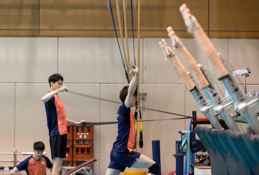 ロボットがバレーボール日本代表チームに手を貸す