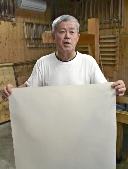 [My 2020] Making the best quality washi diploma for athletes: Takehisa Suzuki, age 70