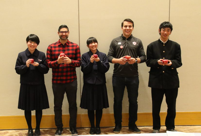 "Students in Morioka, northern Japan, to use GAP-foods to show Team Canada that ""omotenashi"" spirit"
