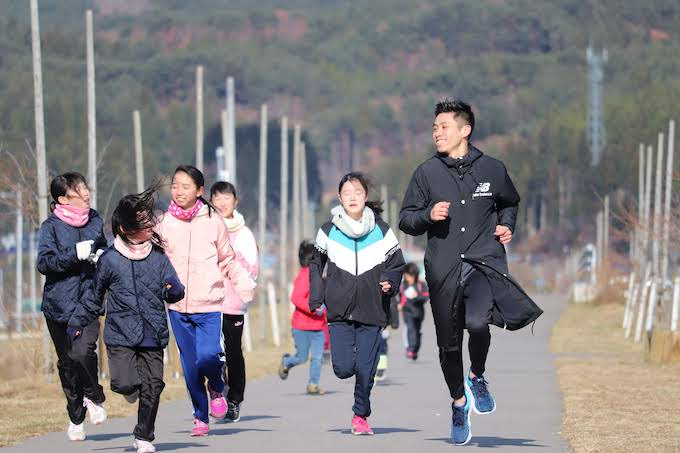 The northern coastal town of Noda welcomes a track & field star, an actress, and other influencers from Taiwan
