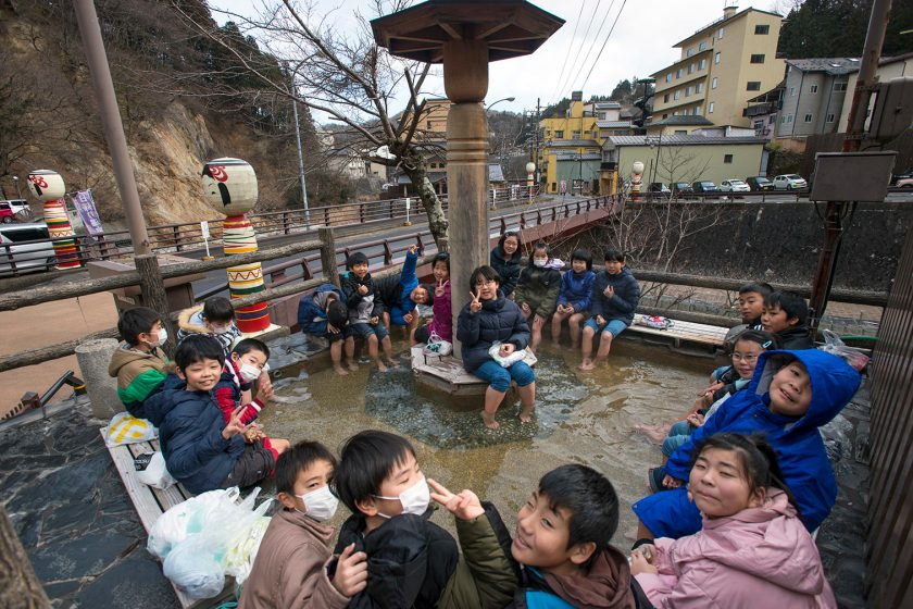 Fukushima: Hot spring town is no shrimp in low carbon quest