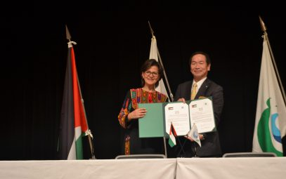 Akita Prefecture's Noshiro City× Embassy of Jordan  Held a joint event