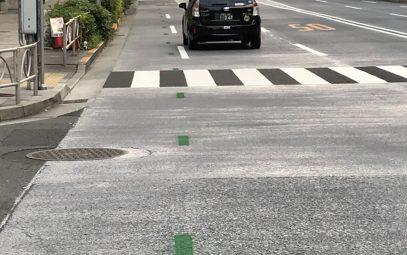 くっきり線で⾛者導く試験施⼯で⾼評価⼩樽の企業、受 注に意欲五輪札幌マラソンで国内初実施