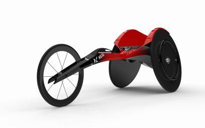 [極める]車いす 高度にフィット 走法解析+F1技術