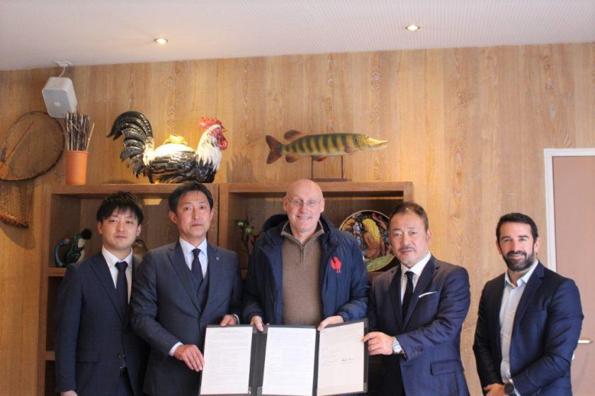 富士吉田市は、フランスラグビー連盟と東京2020 オリンピック競技大会における事前合宿受入に関する実施協定書の締結をしました