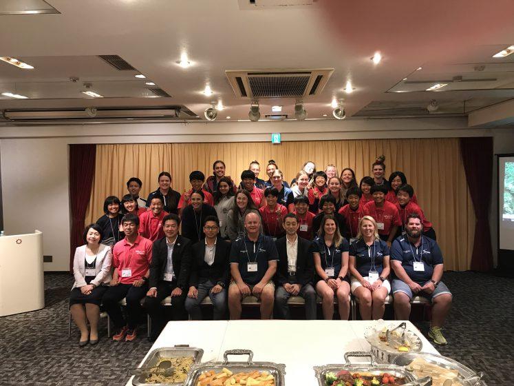 【シリーズ・交流①】オーストラリア・ソフトボールクイーンズランドの合宿を受入