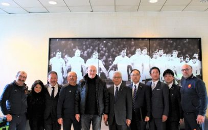 """Making Fujiyoshida the 'Sacred Land of Rugby' ~How to make the 2020 Tokyo Olympic Pre-Tournament Training a Success""【RWC2019 Prelimary Team Camp Agreement】(Part ①)"