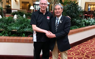 A Pre-Game Training Camp for Volleyball Canada will be held in Shiwa