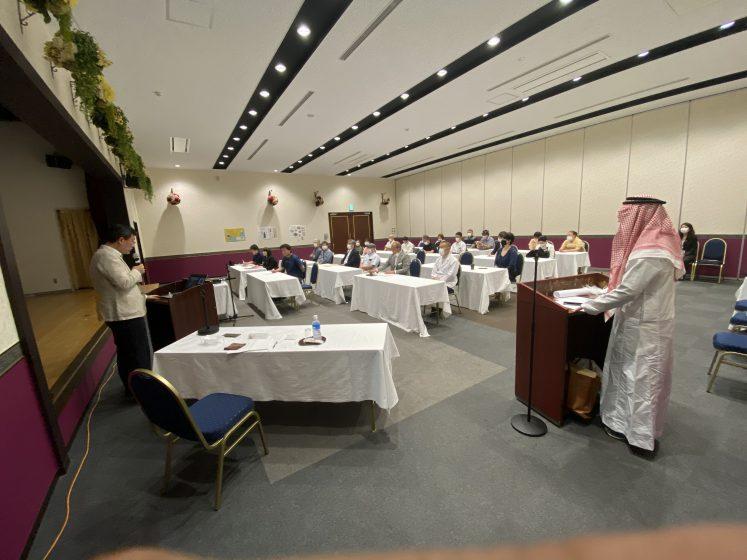 大槌町民がサウジアラビアの文化等について学びました