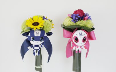 "Fukushima flowers fete medalists at ""Recovery"" Olympics"