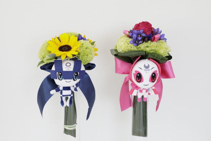 五輪メダリストに贈る花 被災地・福島で咲き誇る