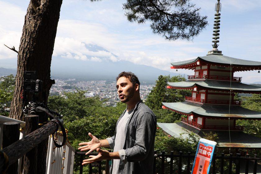 フランス人インフルエンサーが富士吉田の魅力を世界へ発信《最終話》-動画配信開始編ー