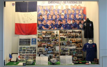 """Fujiyoshida 2020 Host Town Promotion Exhibition – Omoide France"""
