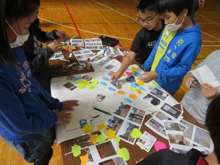 岩手県一戸町の小学生がバリアフリーマップを作成しました